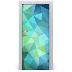 Naklejka samoprzylepna na drzwi Abstrakcja tło