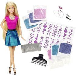 Barbie - brokatowe włosy