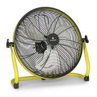 Sterowniki klimatyzacji, Blumfeldt Wintergarden, wentylator podłogowy, 40 cm (16 cali), akumulator, 43 W, USB, 45 dB, żółty