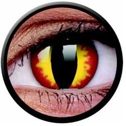 Soczewki kolorowe czerwone DRAGON Crazy Lens 2 szt.
