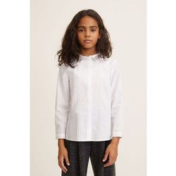 Mango Kids - Koszula dziecięca Neck 110-164 cm