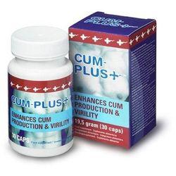 Cum Plus 30 kaps. Cobeco Pharma Więcej nasienia