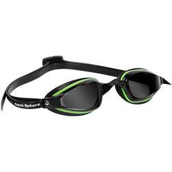Aquasphere okulary K180 + ciemne green-black