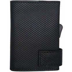 SecWal SecWal 1 Kreditkartenetui Geldbörse RFID Leder 9 cm schwarz ZAPISZ SIĘ DO NASZEGO NEWSLETTERA, A OTRZYMASZ VOUCHER Z 15% ZNIŻKĄ