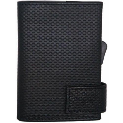 Etui i pokrowce, SecWal SecWal 1 Kreditkartenetui Geldbörse RFID Leder 9 cm schwarz