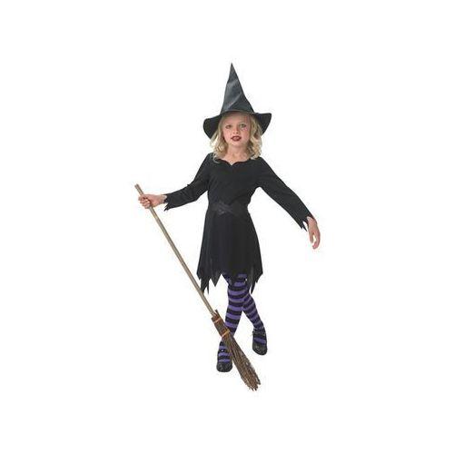 Kostiumy dla dzieci, Kostium Czarna czarownica dla dziewczynki - Roz. L