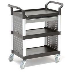 Wózek narzędziowy MOVE, 3 półki, szuflada, 850x480x1000 mm