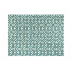 Dywan wewnętrzny lub zewnętrzny SIESTA – 150 × 200 cm – kolor jasny niebieski