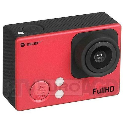 Kamery sportowe, Tracer Slim FHD Adventure 2030 (czerwony)