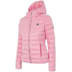 Damska kurtka pikowana KUD003 4F - Jasny różowy Promocja (-12%)