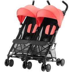 Britax Römer wózek dla rodzeństwa Holiday Double, Coral Peach - BEZPŁATNY ODBIÓR: WROCŁAW!
