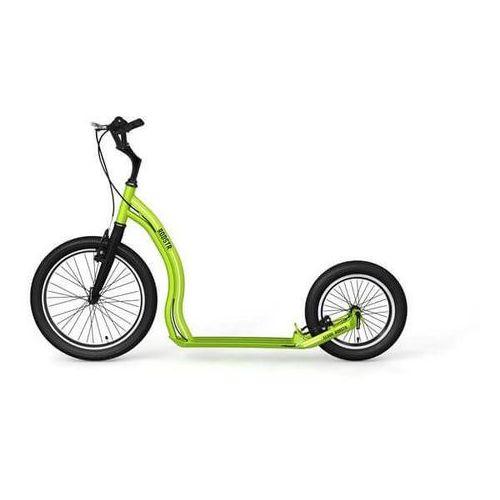 Hulajnogi, Hulajnoga dla dorosłych Yedoo Rodstr - Kolor Zielono-czarny