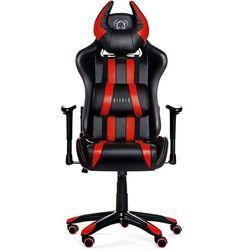 Fotel DIABLO CHAIRS X-One Horn Czarno-czerwony + Zamów z DOSTAWĄ JUTRO!