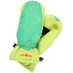 Flashy Stars ERDBEERE MITTEN Rękawiczki z jednym palcem green