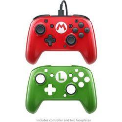 Kontroler PDP Faceoff Deluxe Pro Mario (Nintendo Switch)