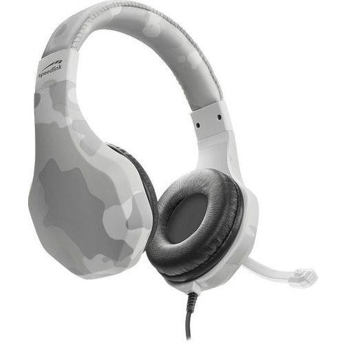 Pozostałe gry i konsole, SPEED-LINK Słuchawki Raidor dla PS4, białe (SL-450303-WE)