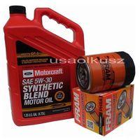 Filtry oleju, Oryginalny olej silnikowy Motorcraft 5W30 oraz filtr Mercury Mountaineer -2001