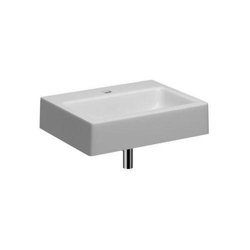 Umywalki, Umywalka z misą prostokątną 60 cm Koło Twins L51160900