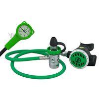 Automaty oddechowe, Scubatech R1 PRO O2 M26x2 zestaw stage do 100% O2 (automat+manometr)