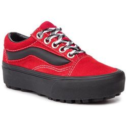 Sneakersy VANS - Old Skool Lug Pla VN0A3WLXVRX1 (90s Retro) Chili Pepper