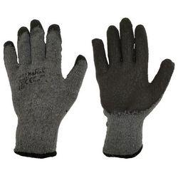 Rękawice ochronne r. XXL / 10 bawełniane z powłoką lateksową