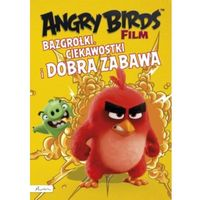 Książki dla dzieci, Angry Birds Film. Bazgrołki, ciekawostki i dobra zabawa (opr. miękka)