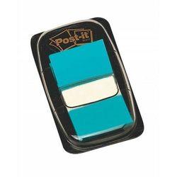 Zakładki indeksujące POST-IT (680-23) PP 25x43mm 50 kart. jaskrawoniebieskie