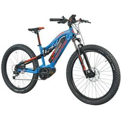 Rower elektryczny TORPADO Thor Maxdrive 27.5 M16 Niebiesko-pomarańczowy