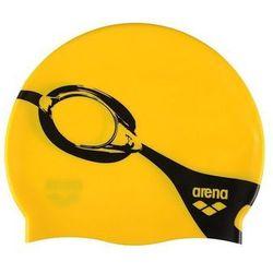 Czepek Arena Poolish - goggle yellow