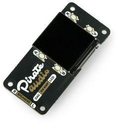 Pirate Audio 3W Stereo Amp - wzmacniacz stereo 3W z wyświetlaczem - AMP dla Raspberry Pi - Pimoroni PIM484