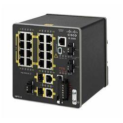 IE-2000-16PTC-G-L Switch Cisco IE2000 w/ 16 FE RJ45, 4 PoE+ & 2 GE uplinks, Lan Lite