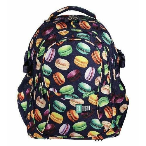 Tornistry i plecaki szkolne, ST.RIGHT Plecak szkolny 4 komory Macarons 2019