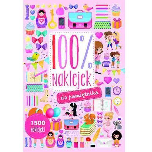 Książki dla dzieci, 100% naklejek do pamiętnika - Opracowanie zbiorowe (opr. broszurowa)