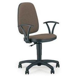 NOWY STYL Krzesło biurowe, obrotowe ADLER GTP, czarno-szary