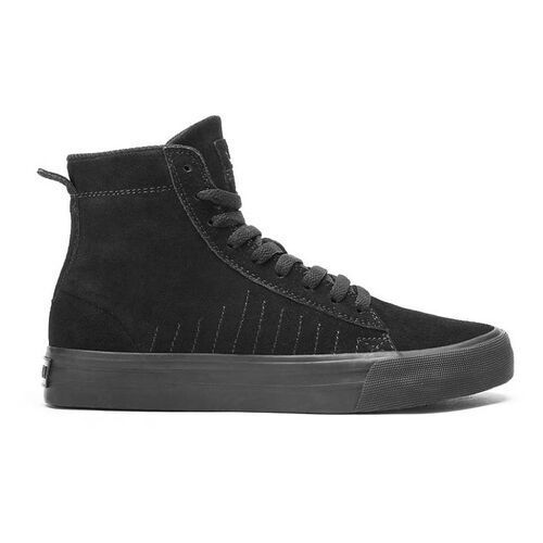 Męskie obuwie sportowe, buty SUPRA - Belmont High Black/Black-Black (BBB)
