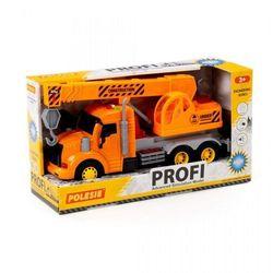 Maszyna budowlana. dźwig pomarańczowy