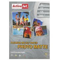 Papiery fotograficzne, Activejet Papier Foto 125g Matowy A4 (AP4-125M100) Darmowy odbiór w 21 miastach!