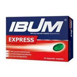 IBUM EXPRESS 400MG 24 KAPSUŁEK