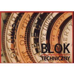 Blok techniczny kartonów białych A4 INTERDRUK