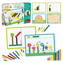 Gra edukacyjna - układanka kolorowe paski
