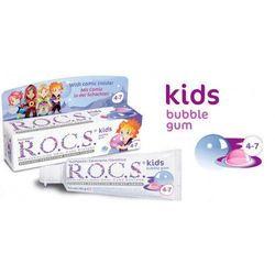 R.O.C.S. Kids Bubble Gum pasta do zębów dla dzieci 35 ml