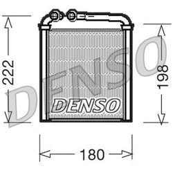 Wymiennik ciepła, ogrzewanie wnętrza DENSO DRR32005