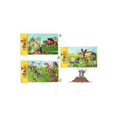 Puzzle, Krtek - Pěnové puzzle 12 dílků/3 motivy neuveden