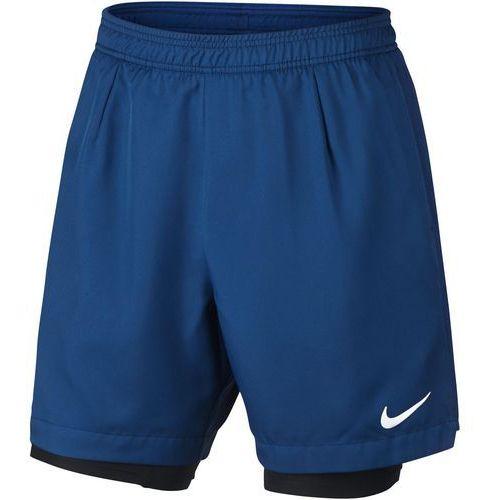 Odzież do tenisa i pokrewnych, Nike spodenki tenisowe M NKCT DRY SHORT BASELINE RIB L