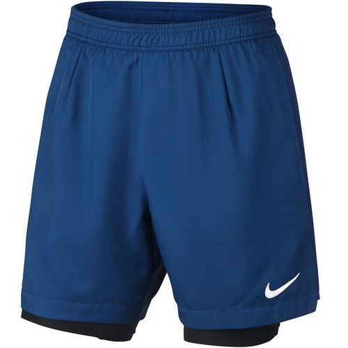 Odzież do tenisa i pokrewnych, Nike spodenki tenisowe M NKCT DRY SHORT BASELINE RIB S