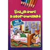 Książki dla dzieci, Bajkowe kolorowanki (opr. miękka)