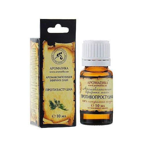 Leki na przeziębienie i grypę, Kompozycja Olejków Przeciwprzeziębieniowa, 100% Naturalna