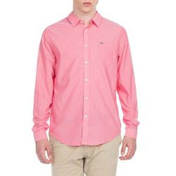 Lacoste Koszula Różowy S/M Przy zakupie powyżej 150 zł darmowa dostawa.