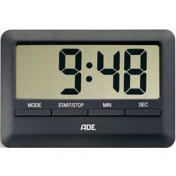 Minutnik elektroniczny z wyświetlaczem LCD - ADE czarny (AD-TD 1601)