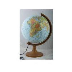 Globus polityczno-fizyczny 32 cm podświetlany z plastikową stopką - GŁOWALA. DARMOWA DOSTAWA DO KIOSKU RUCHU OD 24,99ZŁ